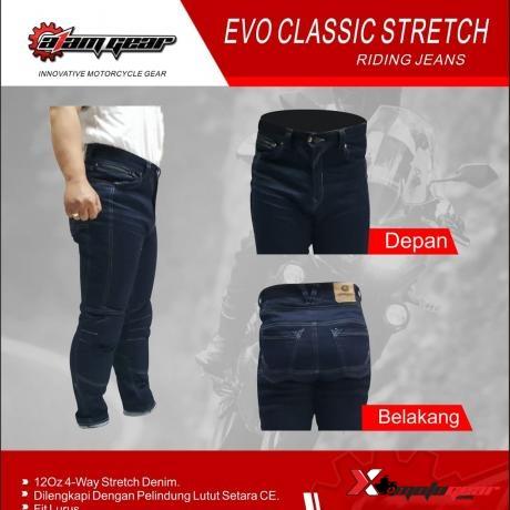 Celana Denim Evo Classic || BIGSIZE A1AM GEAR
